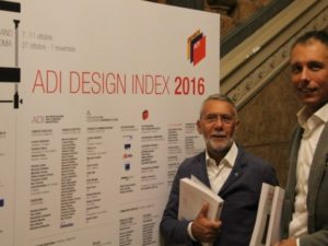 Dinamica premiata con l'ADI Design Index 2016