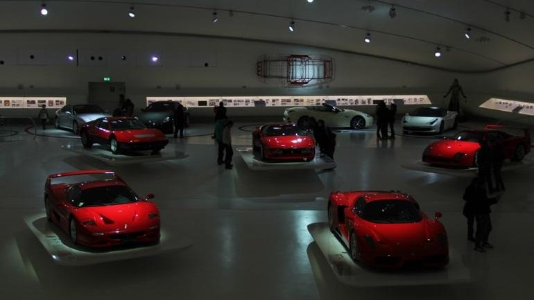 Ferrari Museum Door Hinges 2