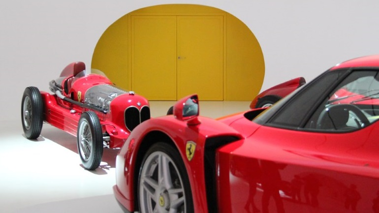 The Sound Proof Doors Of Museo Enzo Ferrari Modena