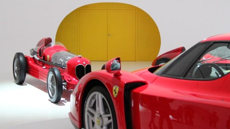 Ferrari Museum Door Hinges 4