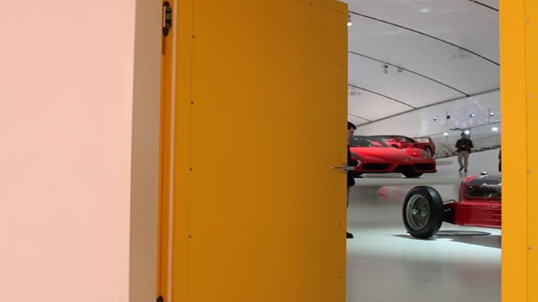Ferrari Museum Door Hinges 5