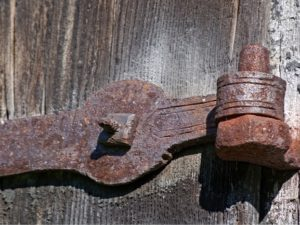 Corrosion resistance of door hinges