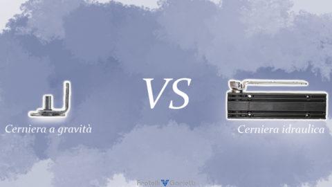 Cerniera a gravità o cerniera idraulica Fratelli Garletti